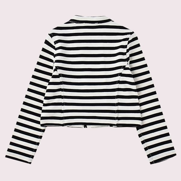 TODDLERS' STRIPE JACKET