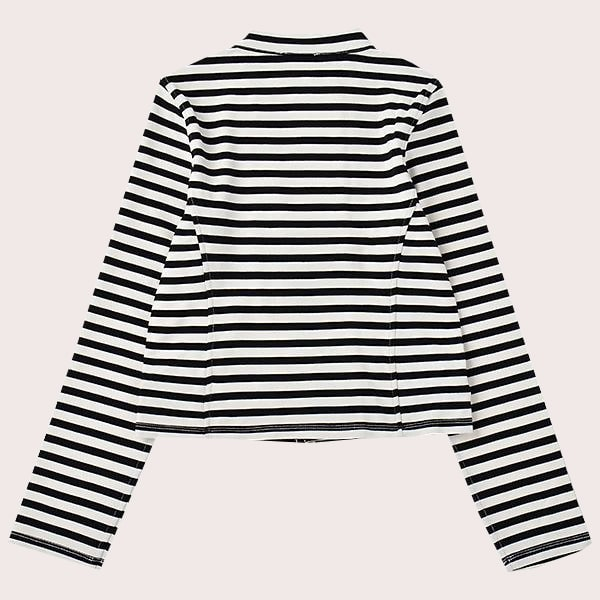 GIRLS' STRIPE JACKET