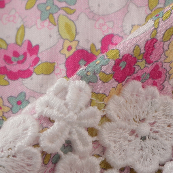 Hello Kitty×Liberty Fabrics 花レースチュニック