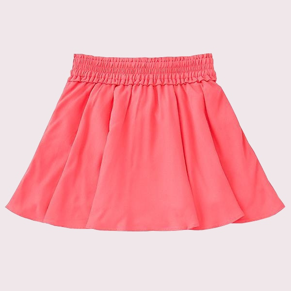 TODDLERS SMOCKED SKIRT
