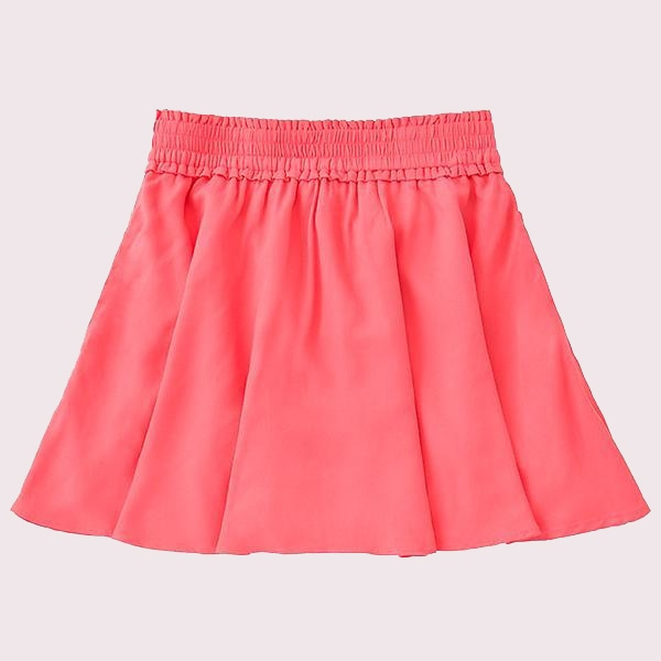 GIRLS SMOCKED SKIRT