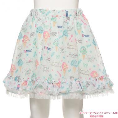 6e7cf4fda3d06 mezzo piano Hello Kitty×Liberty Fabrics 花レースチュニック ¥8