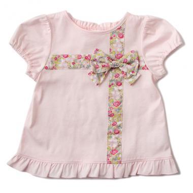 a3a72e1dff7b8 ... Hello Kitty×Liberty Fabrics クロスリボンTシャツ