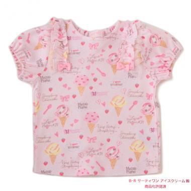 316df10d86e2b ... サーティワン アイスクリームコラボ アイス総柄Tシャツ