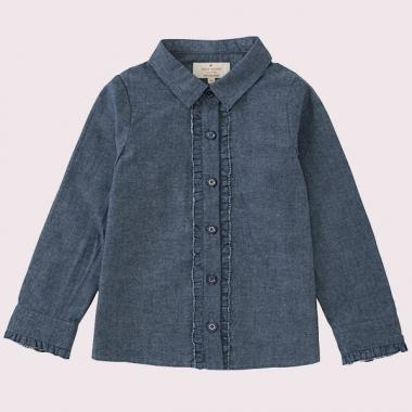 TODDLERS RUFFLE SHIRT