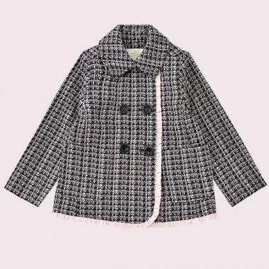TODDLERS TWEED COAT