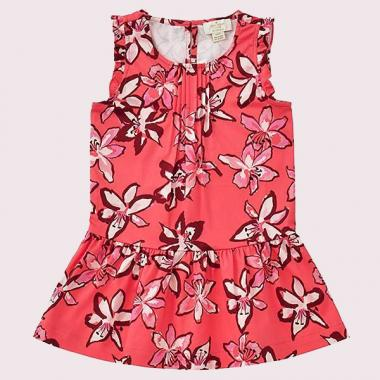 TODDLERS' TIGER LILY DRESS