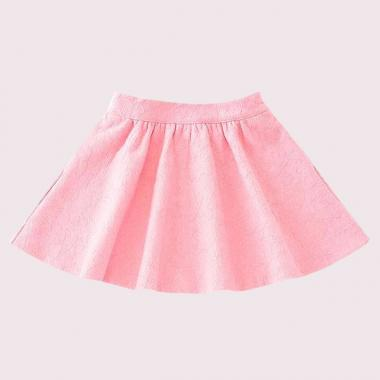 TODDLERS LACE JERSEY SKIRT