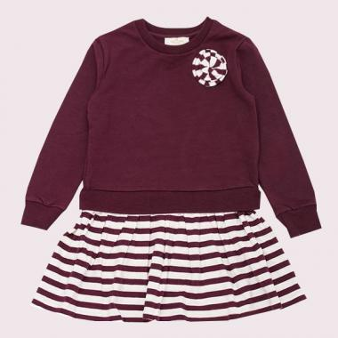 TODDLERS ROSETTE DRESS
