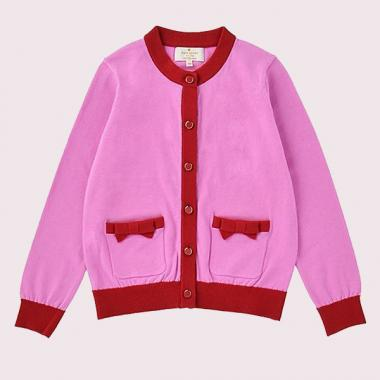 GIRLS POCKET CARDIGAN