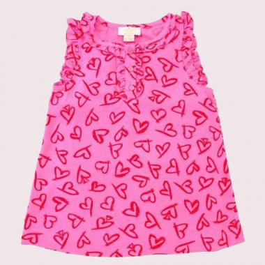 GIRLS' HEART NELLIE TOP