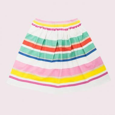 GIRLS CAPE STRIPE SKIRT