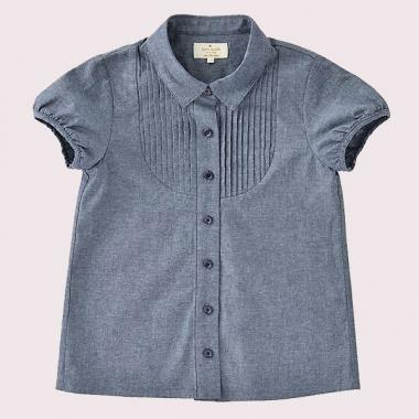 GIRLS CHAMBRAY SHIRT