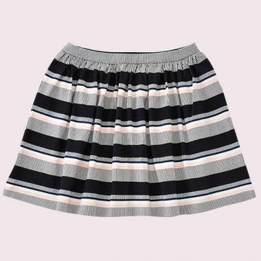 GIRLS BAY STRIPE COREEN SKIRT