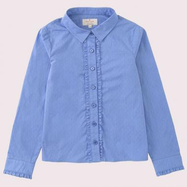 GIRLS RUFFLE SHIRT