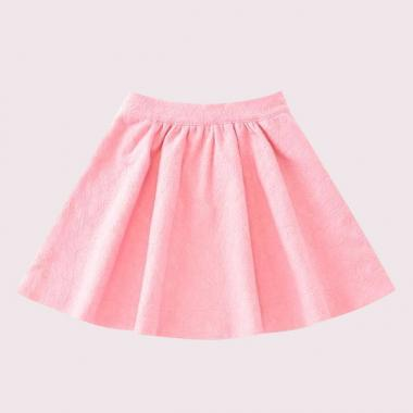 GIRLS LACE JERSEY SKIRT