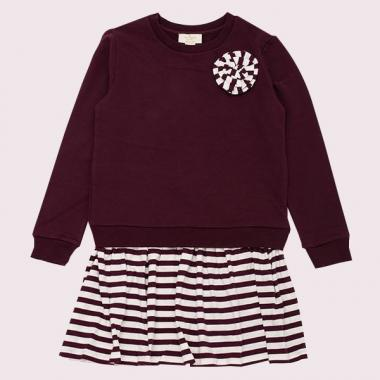 GIRLS ROSETTE DRESS