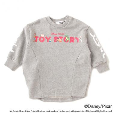 【DISNEY/PIXAR】TOY STORY/ ロゴワンピース