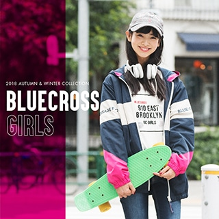 BLUECROSS girls2018AUTUMN&WINTER WEB CATALOG