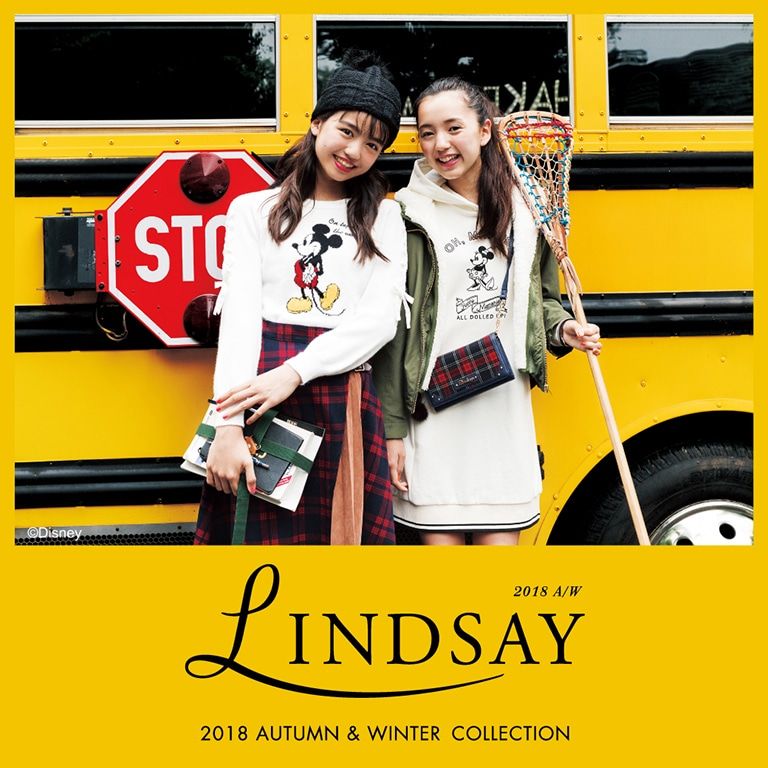 Lindsay 2018AUTUMN&WINTER WEB CATALOG