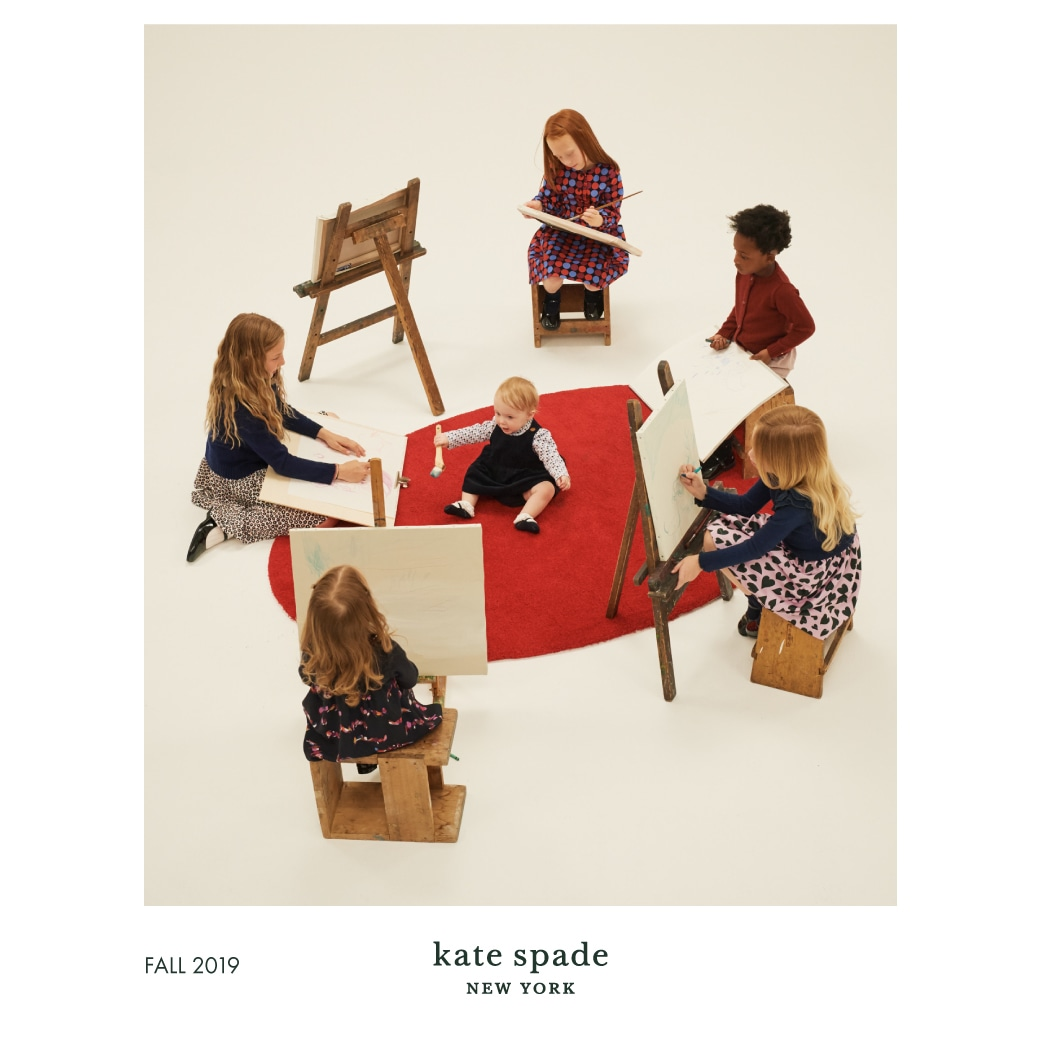 kate spade new york childrenswear FALL 2019 カタログ